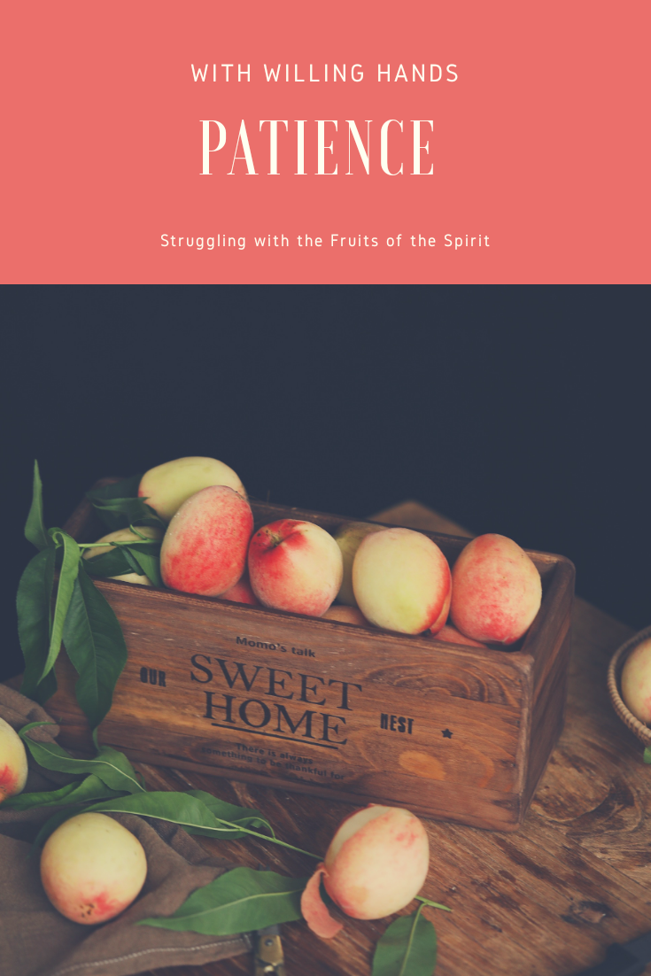 Patience: Struggling with the Fruits of the Spirit
